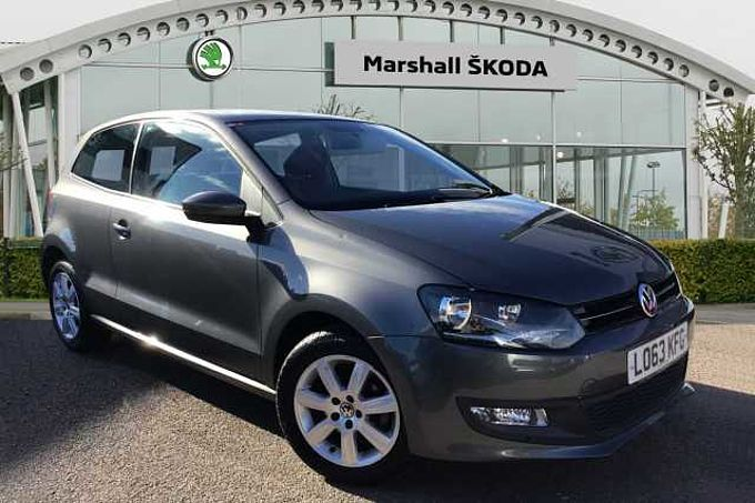 Volkswagen Polo Hatchback 1.2 70 Match Edition 3dr