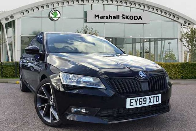 SKODA Superb 2.0 TDI SCR 190ps 4X4 SportLine Plus DSG HB