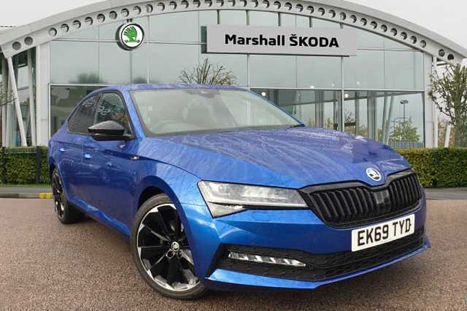 SKODA Superb Sportline Plus 2.0 TDI 190 PS DSG